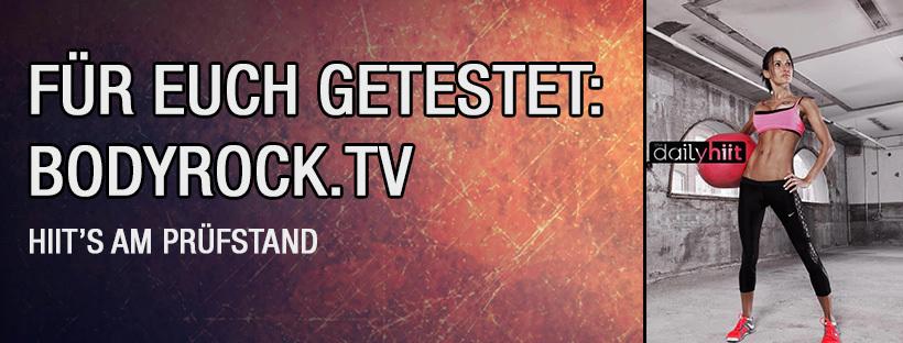 HIIT's am Prüfstand: Bodyrock.tv