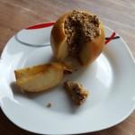Fertiger Bratapfel