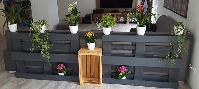 Do it yourself!: Indoor Blumenregal