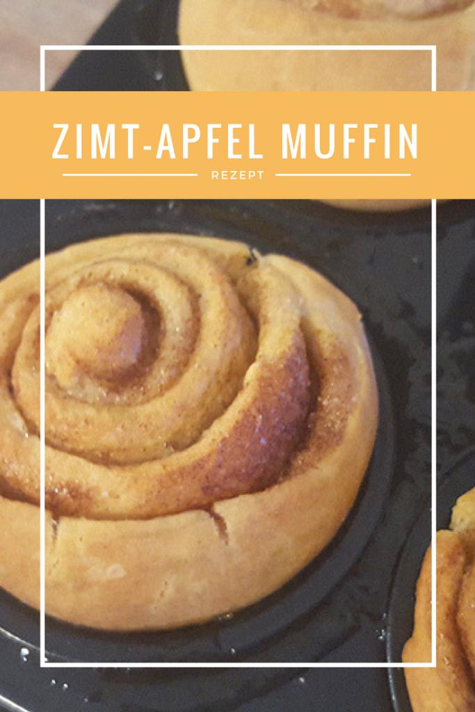 Zimt Apfel Muffin