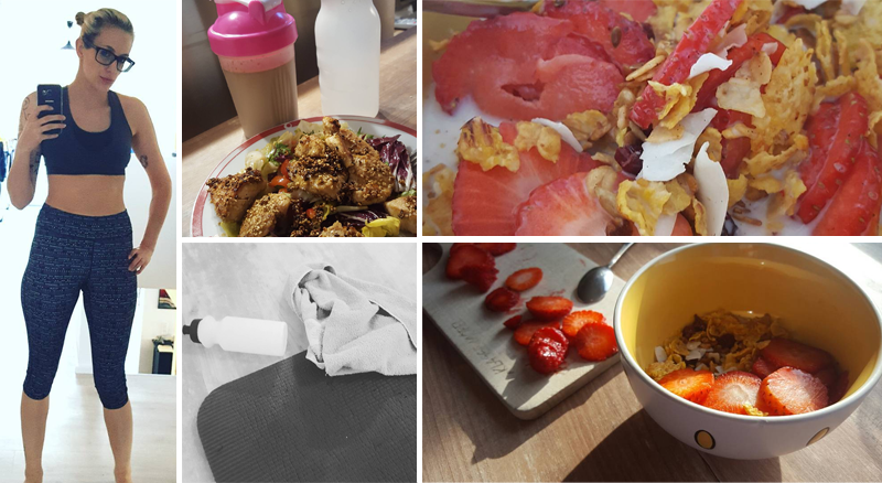 4 Wochen Sport und Clean Eating inkl. News zum Schluss
