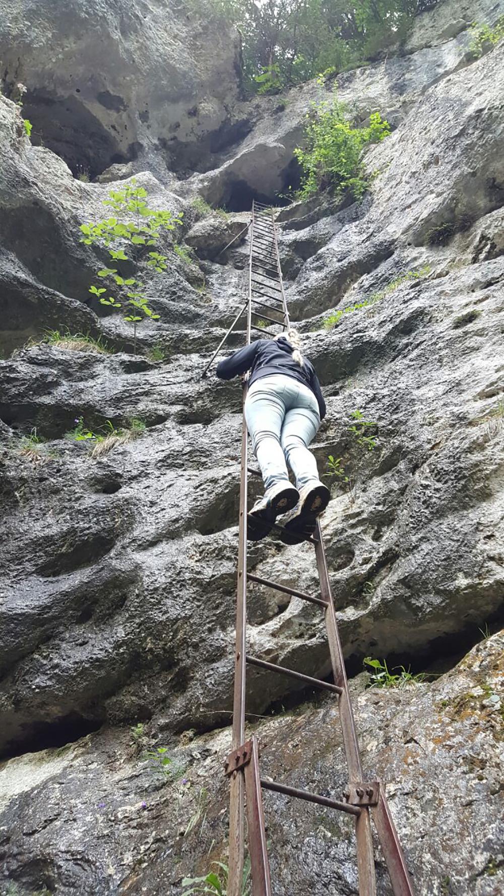 Ich schaffte leider nur die Hälfte. Die Höhenangst war leider zu größ.