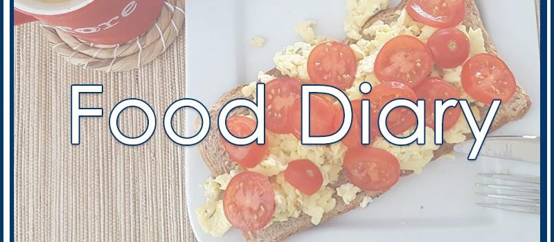 Food Diary: Was esse ich an Arbeitstagen?