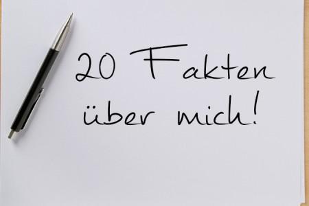 20 Fakten über mich