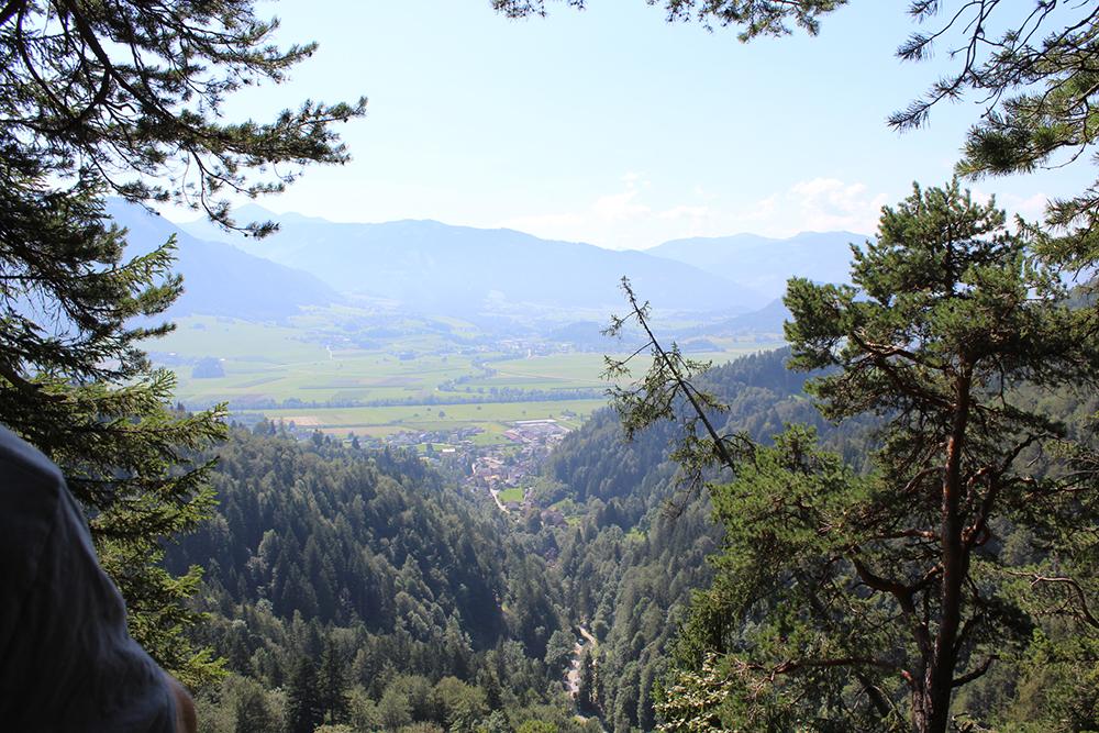 Ausblick am höchsten Punkt des Rundwanderweges