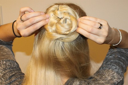 Hairstyle: Rose Bun