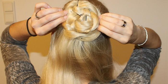 Hairstyle: Rose Bun