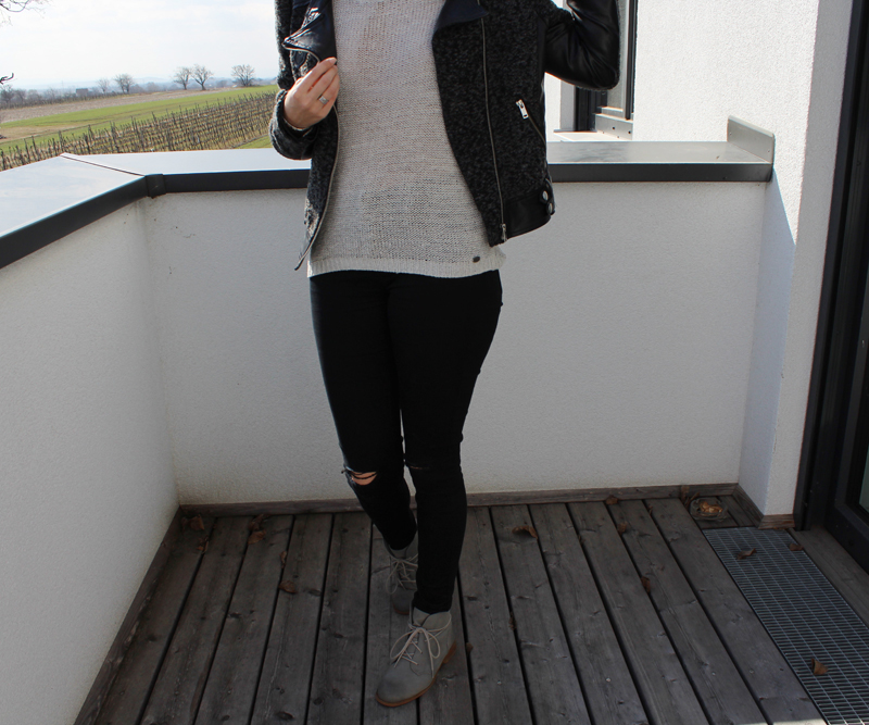 Outfit: Skinny Jeans & Ancle Boots