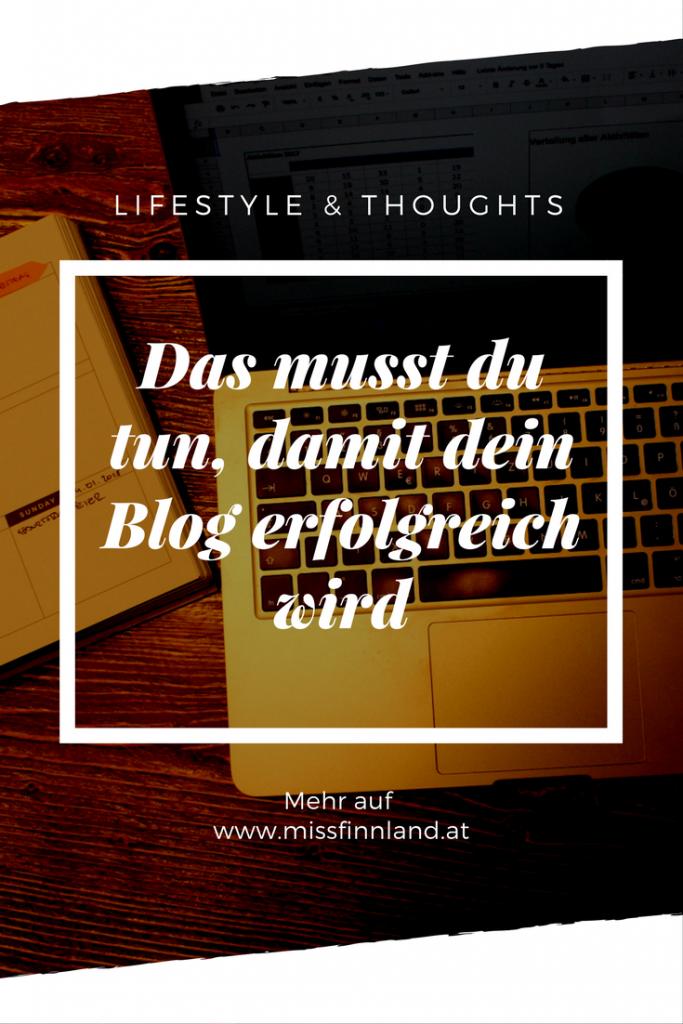 Das musst du tun, damit dein Blog erfolgreich wird