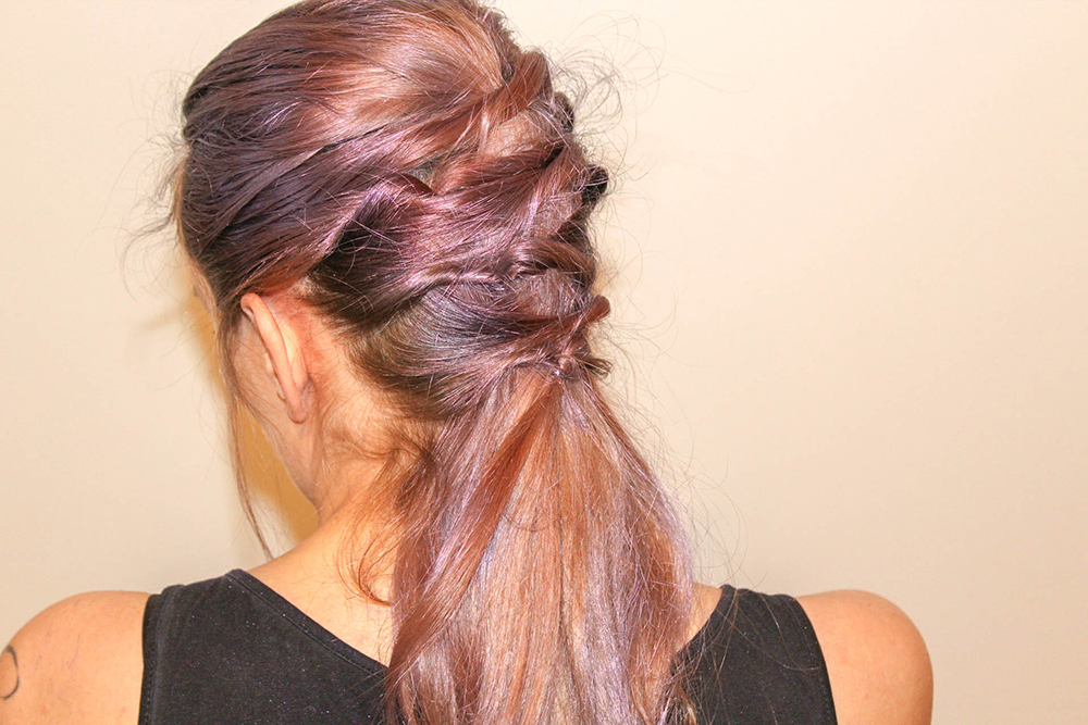 Criss Cross Hairstyle