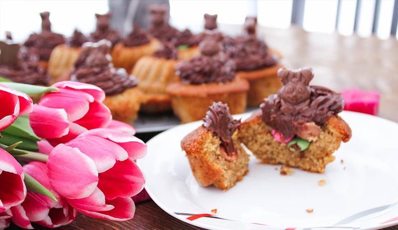 #Osterspezial: Vanillecupcake mit Überraschung