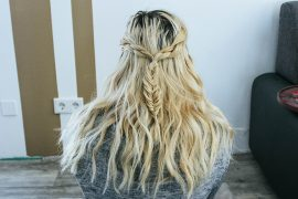 Hairstyle: Halfup Fishtail Braid